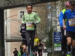 Carole au marathon de Freiburg en Brirgau